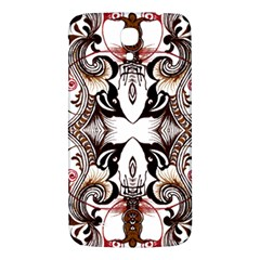 Art Traditional Batik Flower Pattern Samsung Galaxy Mega I9200 Hardshell Back Case