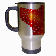 Starfish Travel Mug (silver Gray) by BangZart