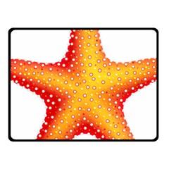 Starfish Fleece Blanket (small)