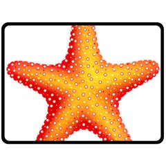Starfish Double Sided Fleece Blanket (large)  by BangZart