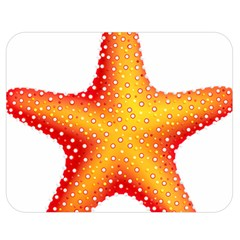 Starfish Double Sided Flano Blanket (medium)  by BangZart