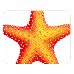 Starfish Double Sided Flano Blanket (large)  by BangZart
