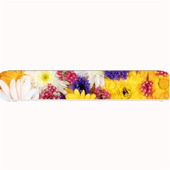 Colorful Flowers Pattern Small Bar Mats