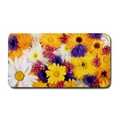 Colorful Flowers Pattern Medium Bar Mats by BangZart