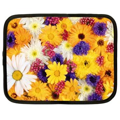 Colorful Flowers Pattern Netbook Case (xl)