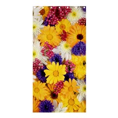 Colorful Flowers Pattern Shower Curtain 36  X 72  (stall)  by BangZart
