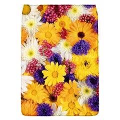 Colorful Flowers Pattern Flap Covers (s)  by BangZart