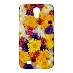 Colorful Flowers Pattern Samsung Galaxy Mega 6 3  I9200 Hardshell Case by BangZart