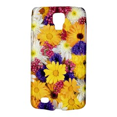 Colorful Flowers Pattern Galaxy S4 Active by BangZart