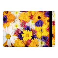 Colorful Flowers Pattern Samsung Galaxy Tab Pro 10 1  Flip Case