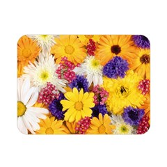 Colorful Flowers Pattern Double Sided Flano Blanket (mini)  by BangZart