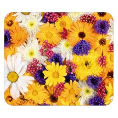 Colorful Flowers Pattern Double Sided Flano Blanket (small)  by BangZart