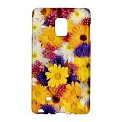 Colorful Flowers Pattern Galaxy Note Edge by BangZart