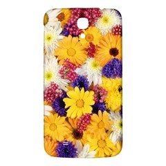 Colorful Flowers Pattern Samsung Galaxy Mega I9200 Hardshell Back Case