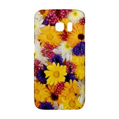 Colorful Flowers Pattern Galaxy S6 Edge by BangZart
