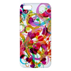 Abstract Colorful Heart Iphone 5s/ Se Premium Hardshell Case by BangZart
