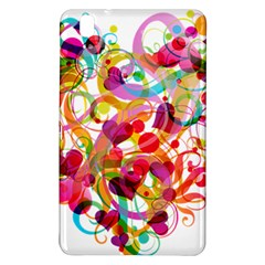 Abstract Colorful Heart Samsung Galaxy Tab Pro 8 4 Hardshell Case