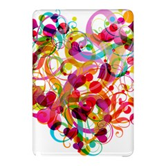 Abstract Colorful Heart Samsung Galaxy Tab Pro 12 2 Hardshell Case by BangZart
