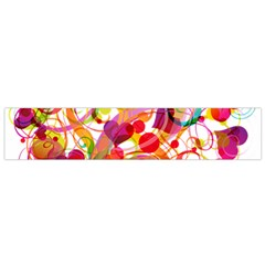 Abstract Colorful Heart Flano Scarf (small) by BangZart