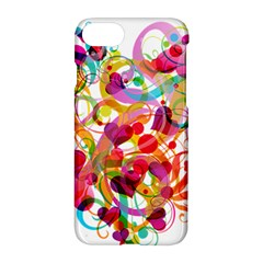 Abstract Colorful Heart Apple Iphone 7 Hardshell Case by BangZart