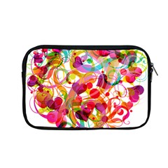 Abstract Colorful Heart Apple Macbook Pro 13  Zipper Case