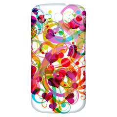 Abstract Colorful Heart Samsung Galaxy S3 S Iii Classic Hardshell Back Case by BangZart