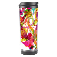 Abstract Colorful Heart Travel Tumbler by BangZart