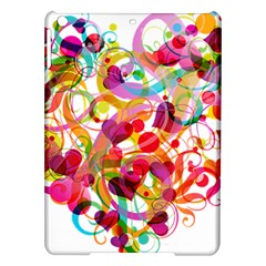Abstract Colorful Heart Ipad Air Hardshell Cases