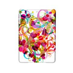 Abstract Colorful Heart Ipad Mini 2 Hardshell Cases by BangZart