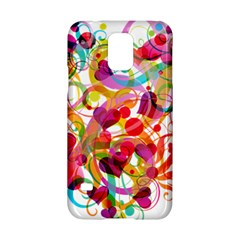 Abstract Colorful Heart Samsung Galaxy S5 Hardshell Case  by BangZart