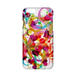Abstract Colorful Heart Apple Iphone 6/6s Hardshell Case by BangZart