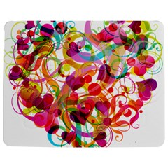 Abstract Colorful Heart Jigsaw Puzzle Photo Stand (rectangular)