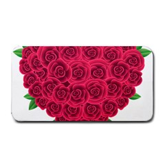 Floral Heart Medium Bar Mats