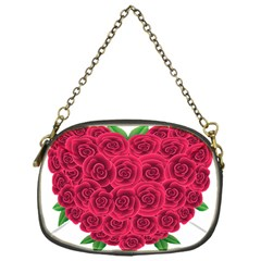 Floral Heart Chain Purses (one Side)  by BangZart