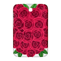 Floral Heart Samsung Galaxy Note 8 0 N5100 Hardshell Case  by BangZart