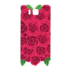 Floral Heart Samsung Galaxy Alpha Hardshell Back Case