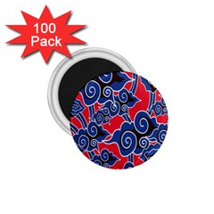 Batik Background Vector 1 75  Magnets (100 Pack)