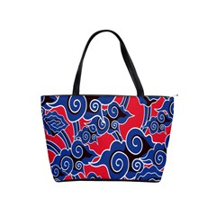 Batik Background Vector Shoulder Handbags