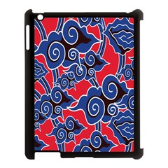 Batik Background Vector Apple Ipad 3/4 Case (black)