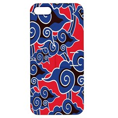 Batik Background Vector Apple Iphone 5 Hardshell Case With Stand by BangZart