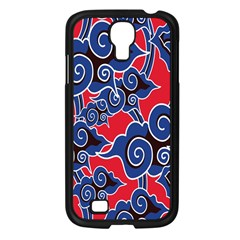 Batik Background Vector Samsung Galaxy S4 I9500/ I9505 Case (black)