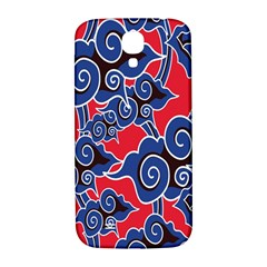 Batik Background Vector Samsung Galaxy S4 I9500/i9505  Hardshell Back Case