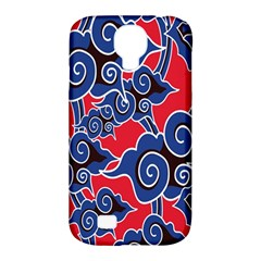 Batik Background Vector Samsung Galaxy S4 Classic Hardshell Case (pc+silicone) by BangZart