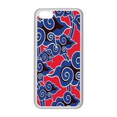 Batik Background Vector Apple Iphone 5c Seamless Case (white) by BangZart