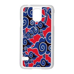 Batik Background Vector Samsung Galaxy S5 Case (white)