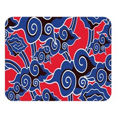 Batik Background Vector Double Sided Flano Blanket (large)