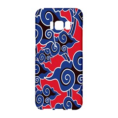 Batik Background Vector Samsung Galaxy S8 Hardshell Case  by BangZart