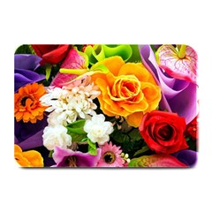 Colorful Flowers Plate Mats by BangZart