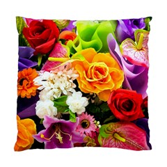 Colorful Flowers Standard Cushion Case (two Sides) by BangZart