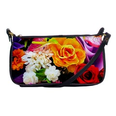 Colorful Flowers Shoulder Clutch Bags by BangZart